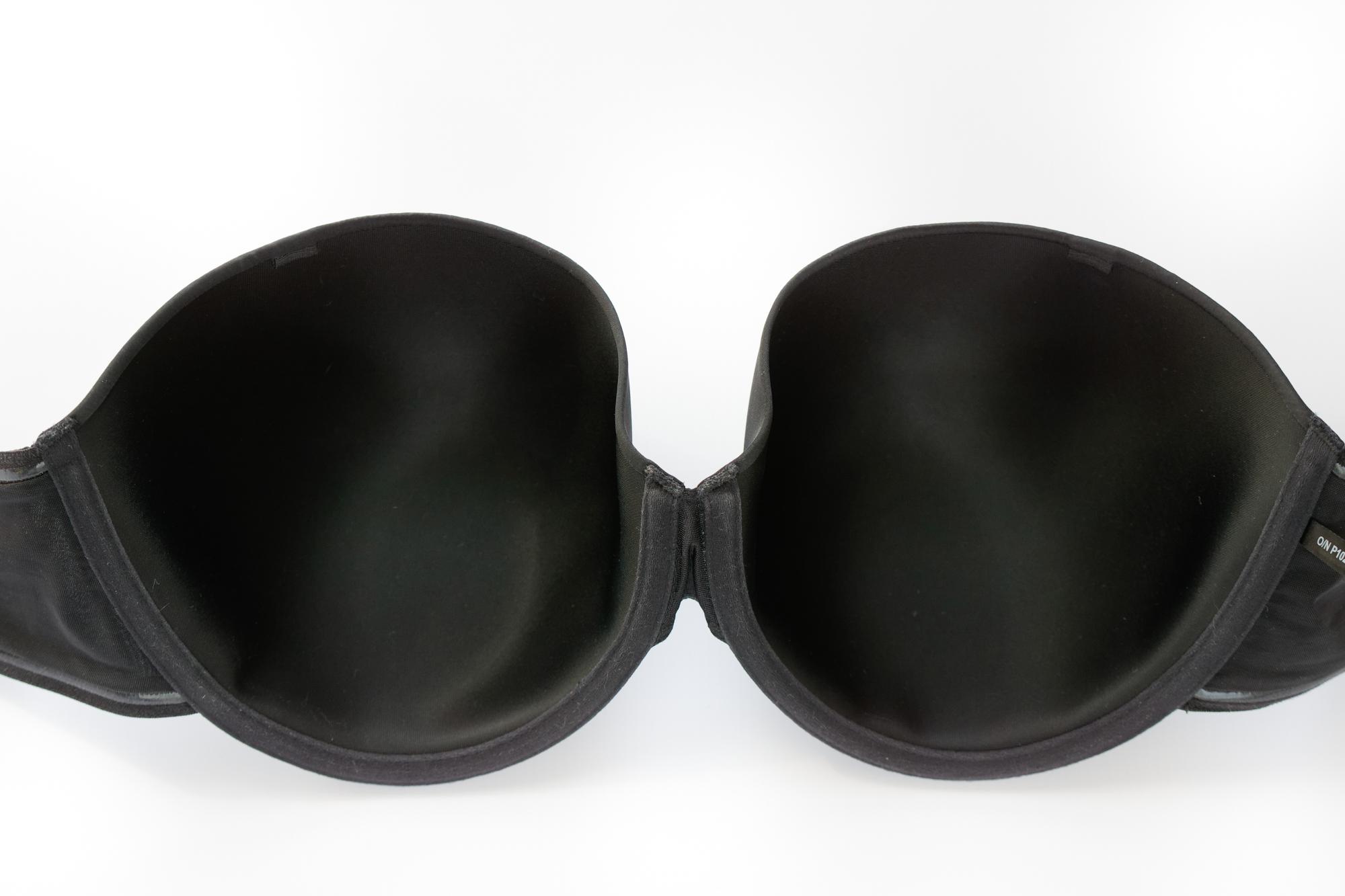 Biustonosz Panache Porcelain Elan moulded strapless czarny